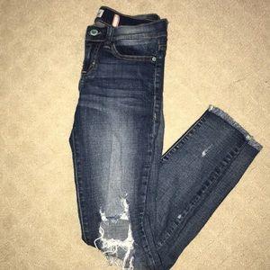 Sneak Peek Ripped Jeans